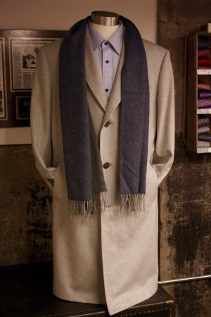 WoolCashOvercoat