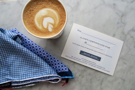 CoffeeandGiftCertificate